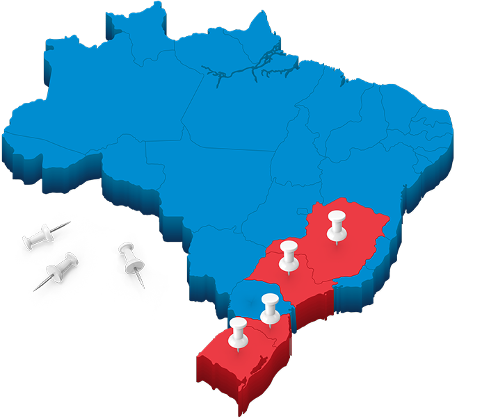 Mapa Unidades